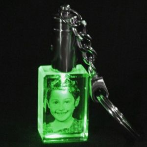 30x20x15 Yeşil Işıklı Anahtarlık