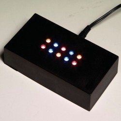 - 10 Ledli Adaptörlü Işıklık (1)