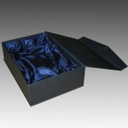 Kişiye Özel Kristal 30x30x15mm Mavi Işıklı Anahtarlık - Thumbnail